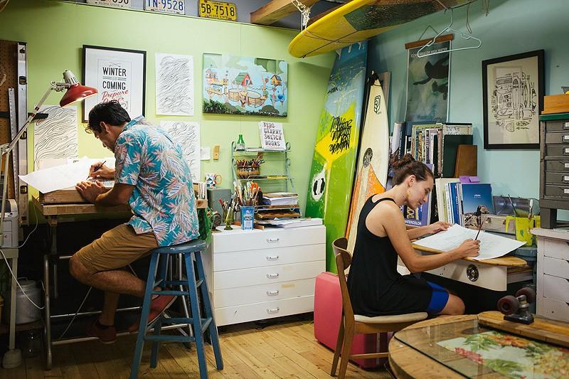 サステナブルやコミュニティーをテーマにしたアーティストデュオ
